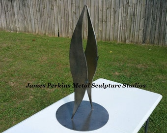 "The ""Walk"" Metal Table Sculpture"