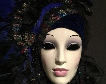 Jewel Tone Carneval Masque