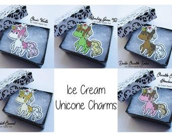 Ice Cream Unicone Charm