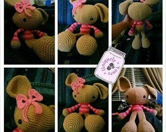 Spring bunny-- made to order