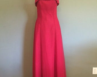 Classic 1990's formal gown, size 4 Small