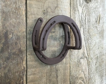 Bridle holder, use for rope, tack reins in barn hook, incl 4 screws, optional engraving