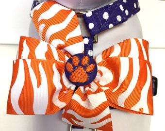 Dog Harness- The Clemson Tiger