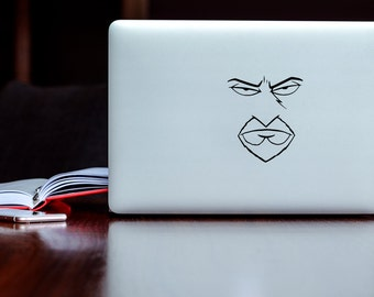 Aqua Teen Hunger Force - Frylock Face Vinyl Decal