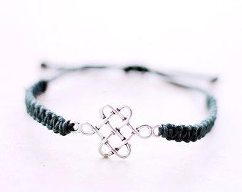 Celtic Knot Bracelet - Hemp Bracelet - Hemp Jewelry