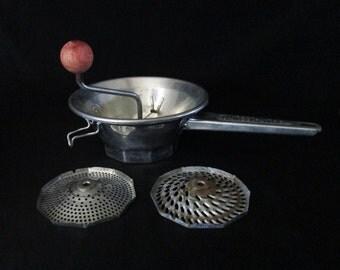 items similar to vintage moulin legumes 2 brevete potato. Black Bedroom Furniture Sets. Home Design Ideas