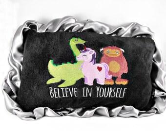"Throw Pillow - Believe In Yourself - 12"" x 18"""