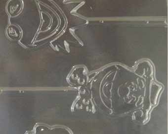 Muppets Lollipop Chocolate Candy Mold