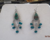 New Native American Style Turquoise Earrings Southwestern, Hippie, Boho, Great Gift Ready to Ship