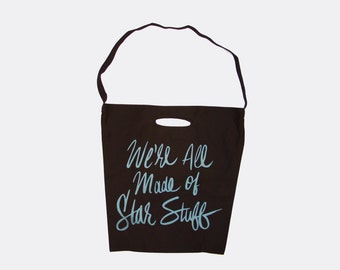 We're All Made of Star Stuff | Carl Sagan Black Tote Bag