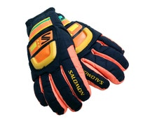 Hyper-Rare 80s Salomon Snowboard Gloves - M / L