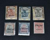 Iran 6 mint stamps 1914-1916