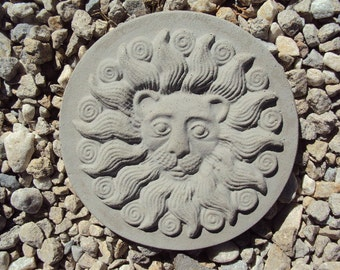 Lion Statuary, Lion, Stone Yard Art