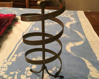 Vintage Retro Spiral Earring Holder