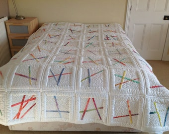 Chopsticks quilt