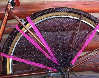 Bike skirt guard, 'Samba'. Bicycle accessories, bicycle, cruiser accessories, street cycling