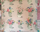 Cath kidston Flower pots fabric cushion/pillow cover decorative cushion cover in cath kidston  fabric
