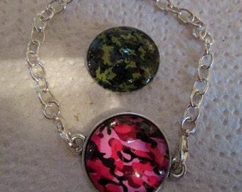 Camouflage Bracelet - Interchangeable Bracelet - one item