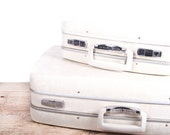White Luggage Set / Royal Traveller Suitcases / Luggage Suitcases / Antique Suitcase / Old Suitcase / Vintage Luggage / Luggage Bag
