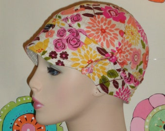 Cancer Hair Loss Hat SALE  Chemo Hat Made in the USA ( For Size Guide, see 'Item Details' below photos) MEDIUM
