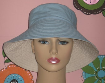 Chemo Hat Sun Hat Alopecia Hair Loss Hat Made in the USA   ( For Size Guide, see 'Item Details' below photos)SMALL/MEDIUM