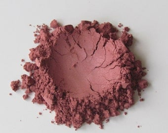 Shimmer Eye Shadow Pure Pigment Color in Raspberry by RAW Beauty LLC
