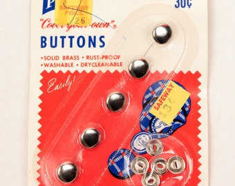 Prims vintage buttons // cover your own