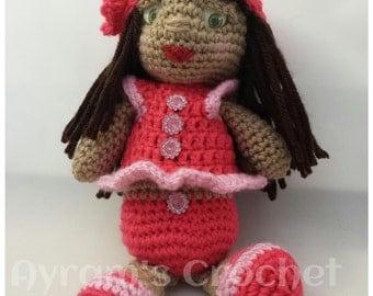 Crocheted Amigurumi Doll