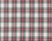Red & White Plaid from Robert Kaufman's Sevenberry Classic Plaid Collection