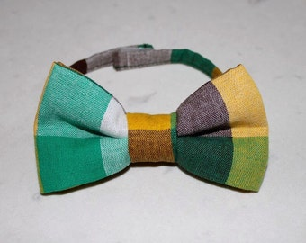 Fall colors bow tie