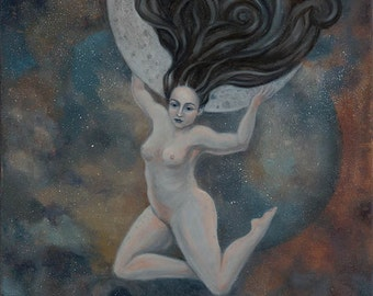 Moon Thief - Fine Art Print