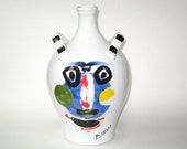Picasso Living FACE Jug 1963 - Masterpiece Editions Ltd. 1996 Succession Pablo Picasso