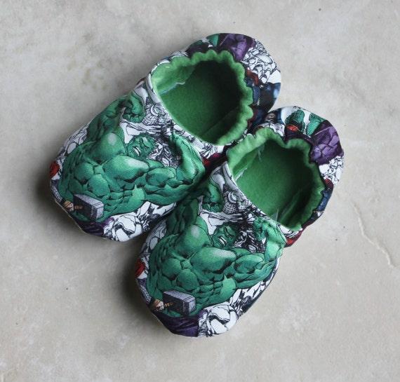 AvengersSlippers/ Hulk Slippers/ CHILDREN'S Slippers , Incredible Hulk Slippers