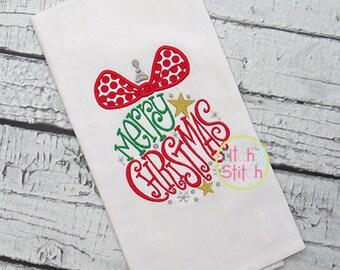 Merry Christmas Ornament Design Shirt - Christmas Shirt - Girl's or Boy's Holiday Shirt Design