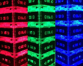 Color-changing Cassette Tape Lamp Mixtape Light