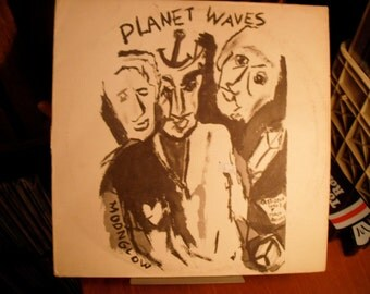 Bob Dylan Planet Waves with The Band 1974 on Asylum Records