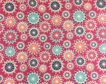 Makower Radiance Starburst cotton craft fabric by the fat quarter