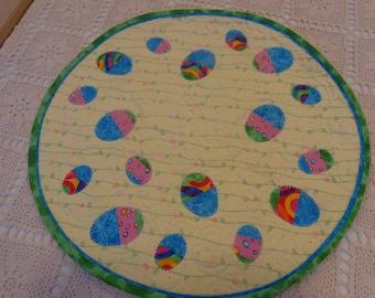 Easter Quilt, Little Spring  Quilt, Little quilt 0108-01
