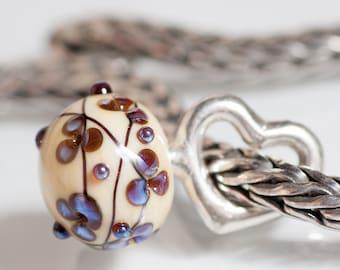 GlassBonBon  SRA Lampwork Bead fits all kinds of european charm bracelets BHB