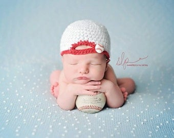 Newborn Boy Backwards Baseball Ballcap - Made to Order