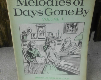 Vintage Piano Music Books  1954 and 1968
