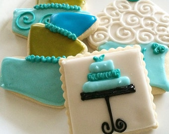 Birthday Gifts Sugar Cookies Iced Decorated Birthday Favors