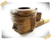 Indian Head Tobacco Pipe