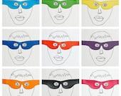Superhero mask.... eyemask