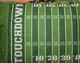 Touchdown Football Field Pillowcase