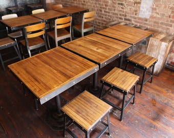 Attractive Restaurant Chairs, Short Stools, Reclaimed Furniture, Restaurant Furniture,  Restaurant