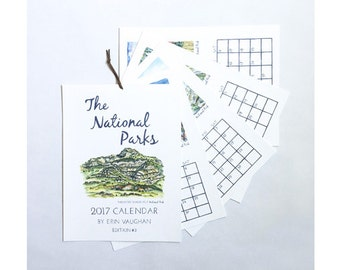 2018- Edition #3 National Park Calendar