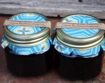 Lemon Blueberry Preserves - 8oz