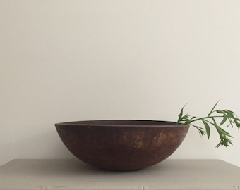 Antique Wooden Bowl