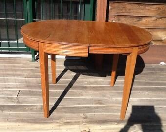Oak. Table